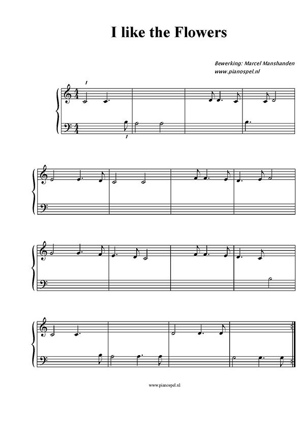 Populair Pianospel.nl - Download gratis kinderliedjes met notenbalk @YB73